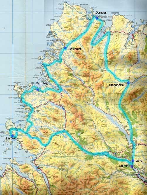 Ride In North West Scotland